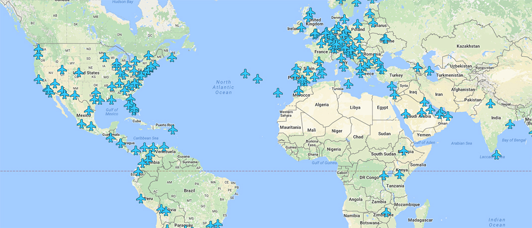Essential Map for Travelers Shows WiFi Passwords at Airports – Travelers World Map