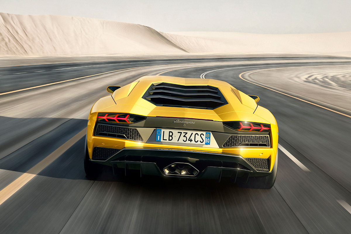 Lamborghini's New Aventador S Supercar