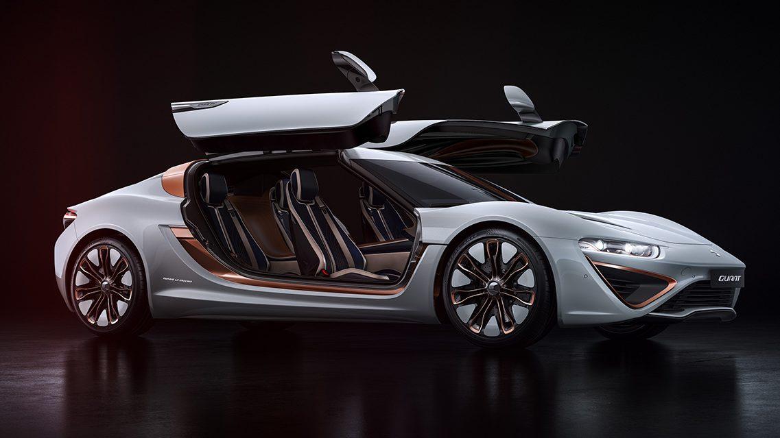 Quant 48Volt Supercar Concept Runs on Electrolyte Fluids Instead of Gas