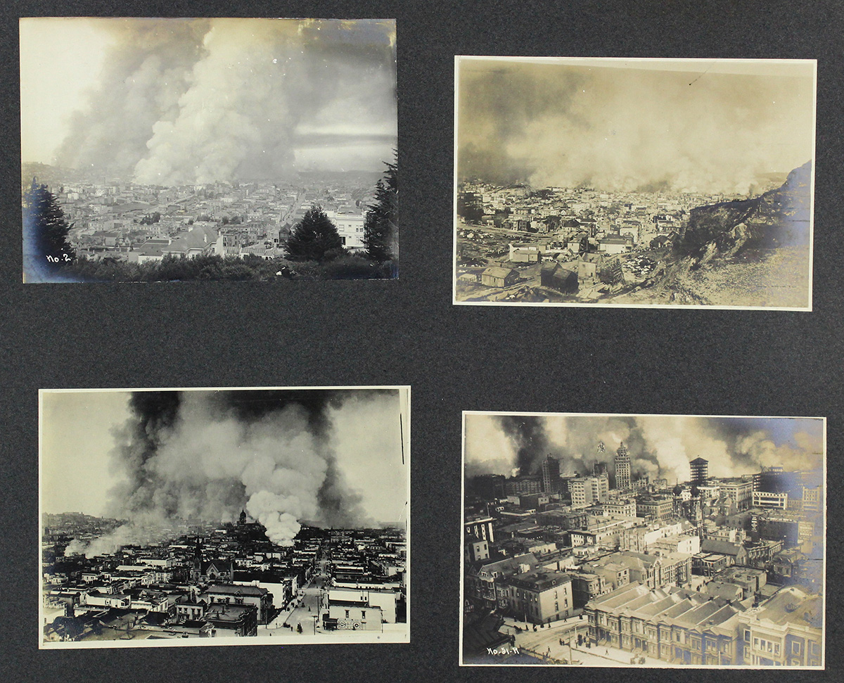 Trove of San Francisco Earthquake Photos