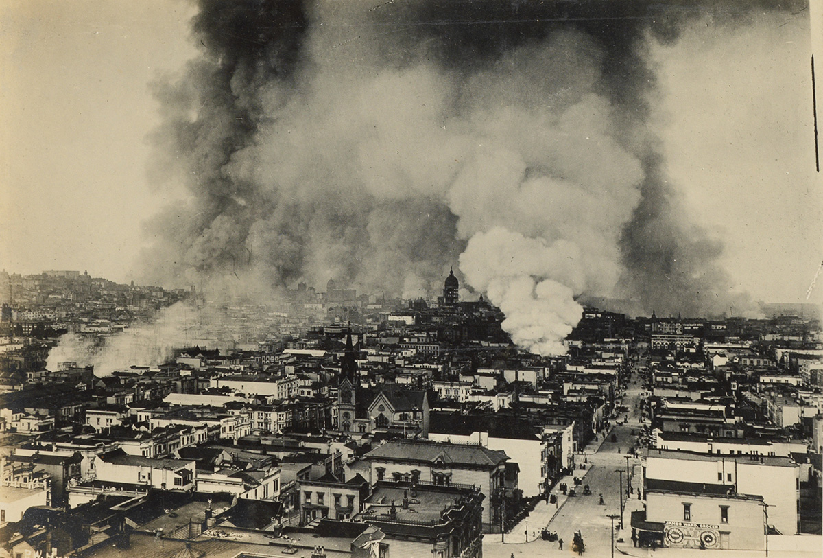 Rare Trove of 1906 San Francisco Earthquake Photographs