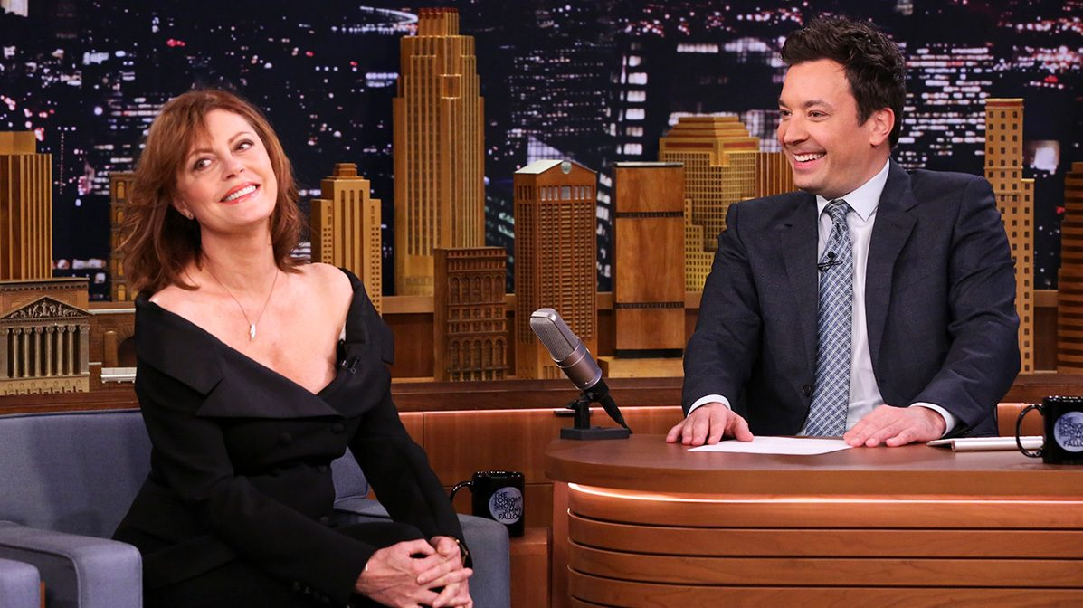 'Feud' Star Susan Sarandon Explains the Roots of the Show to Fallon