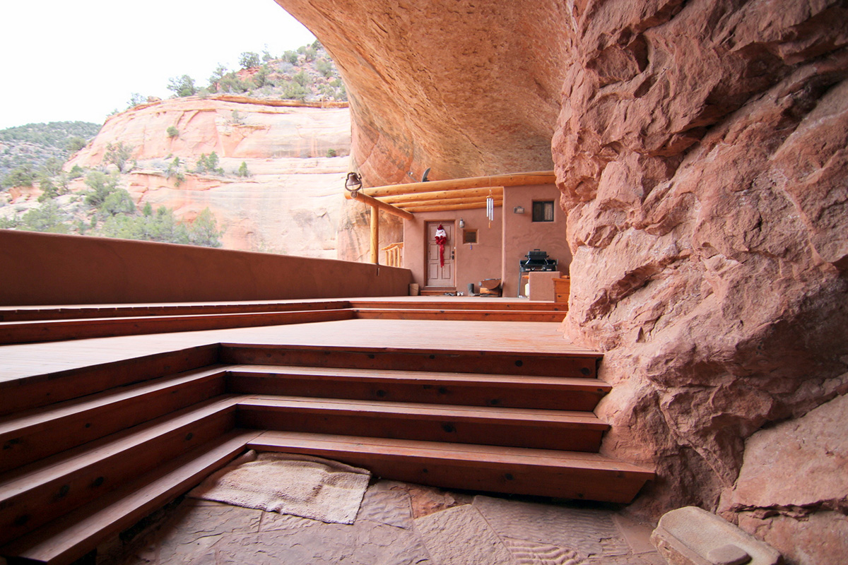 Buy this utah home cut into a cliffside for Utah house