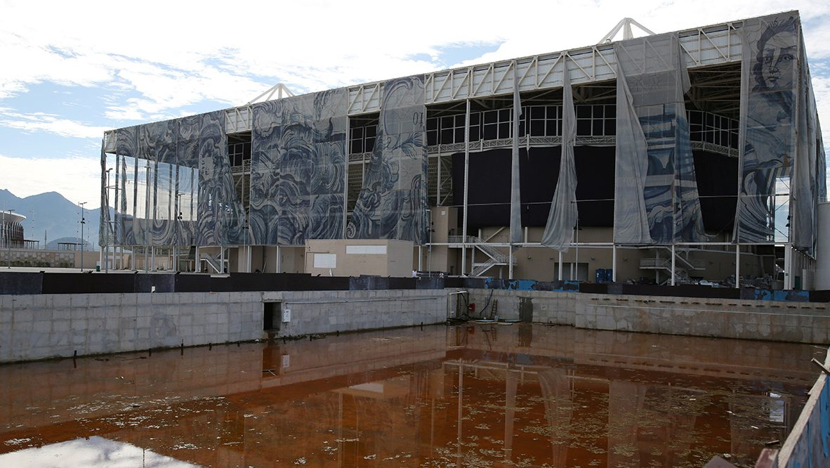 Olympic Venues in Rio de Janeiro Are in Disrepair Only Six Months After the Games Ended