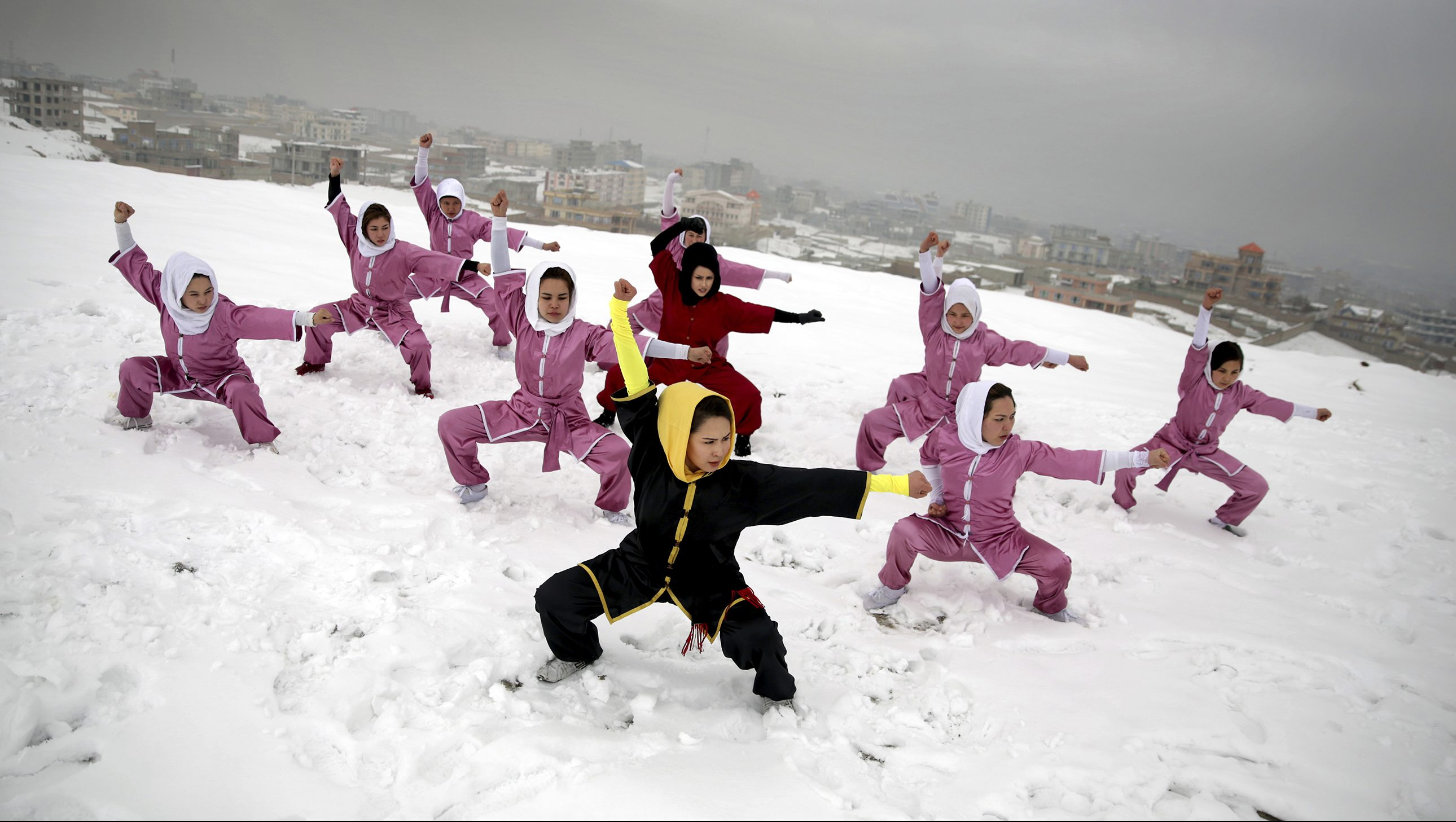 Women in Afghanistan Training to Compete in Shaolin Martial Arts