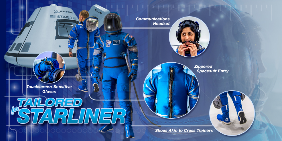 New NASA Spacesuit Is Sci-Fi Chic