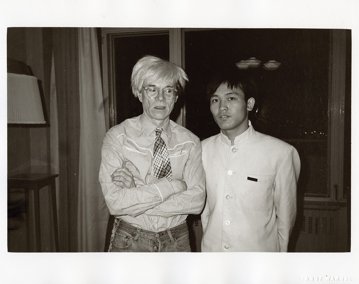 Andy Warhol's China Adventure in Photographs