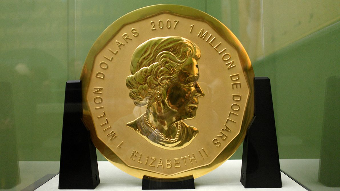 A 221-Pound Gold Coin Stolen From Berlin Museum in Early Morning Heist