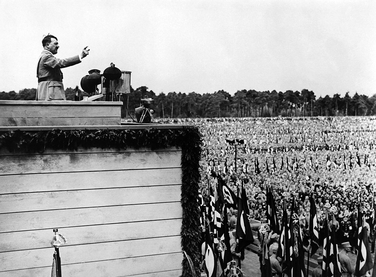 Adolph Hitler Was High for Most of World War II