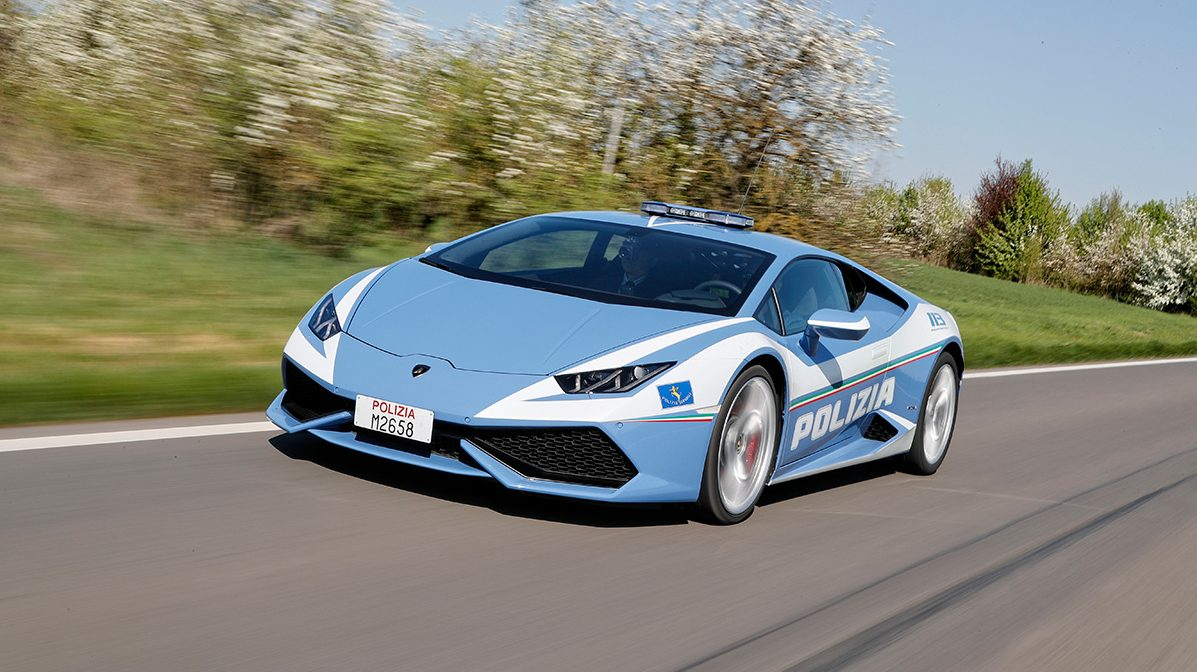 Lamborghini Hurac 225 N Now The Fastest Highway Patrol Car In Italy