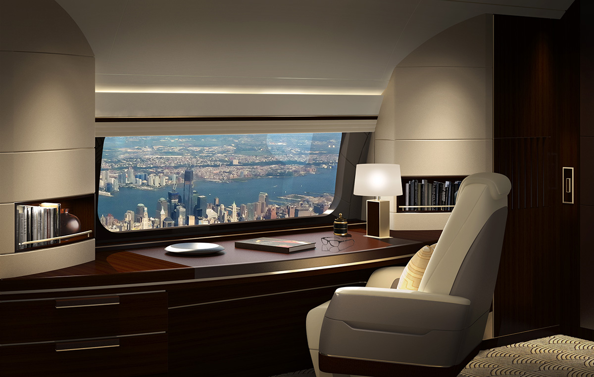 Boeing Installing the Largest Passenger Jet Window in All Its Business Jets