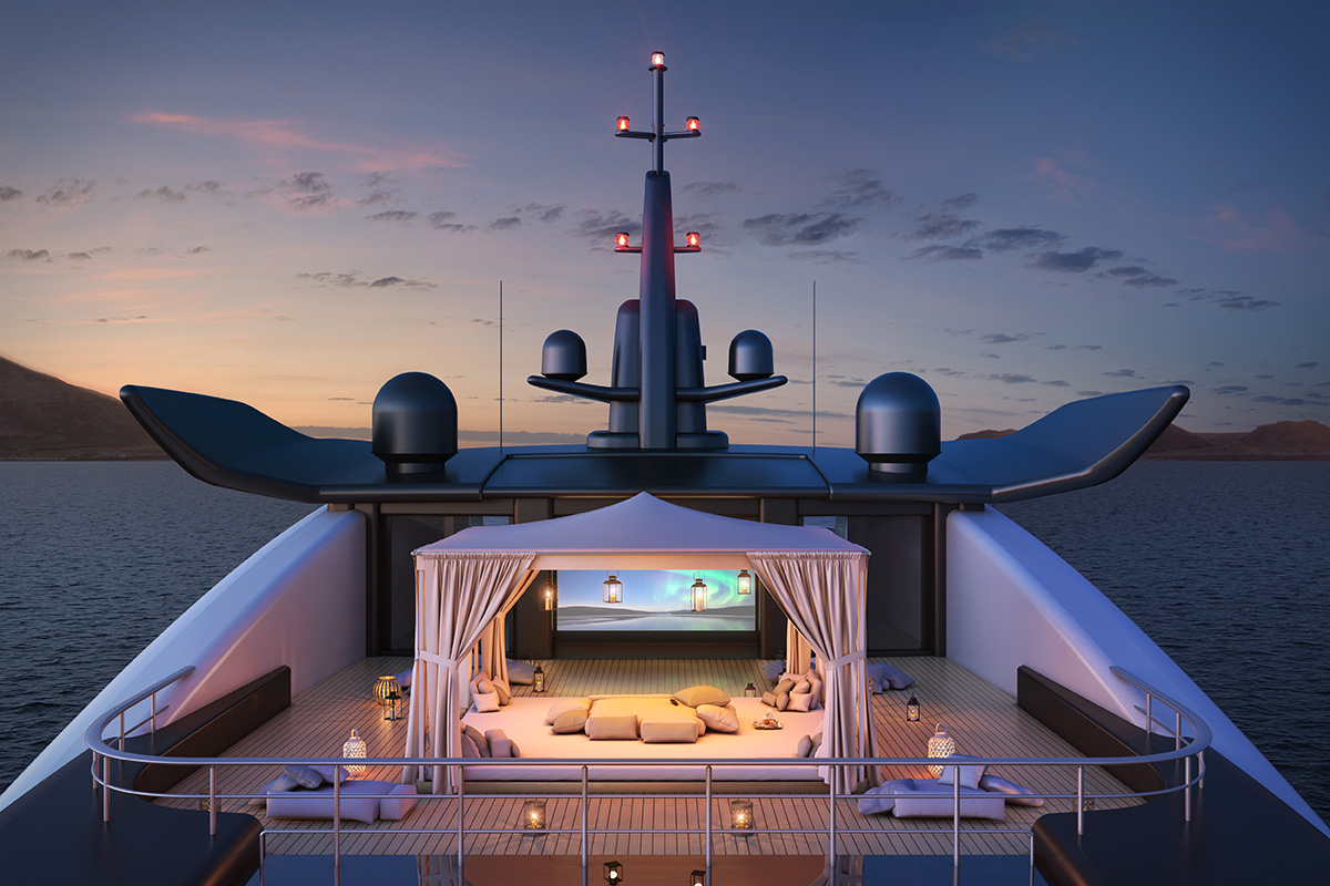 Pilot a 'Resort' on the High Seas With Oceanco's Amara Superyacht