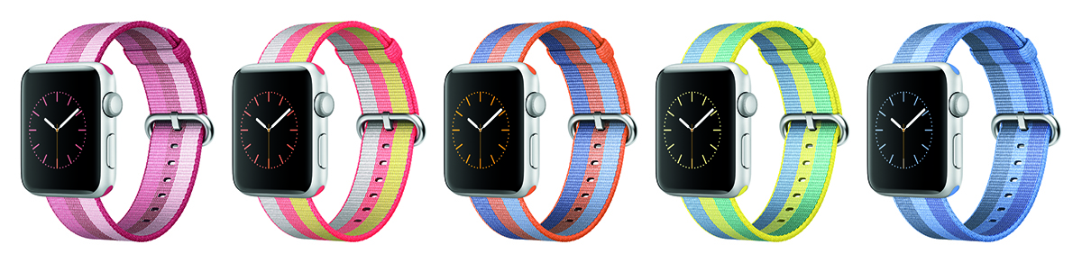 Woven Nylon Band (Apple)