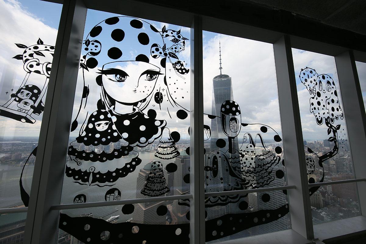 World Trade Center Art Gallery Elevates Street Graffiti Into the Sky