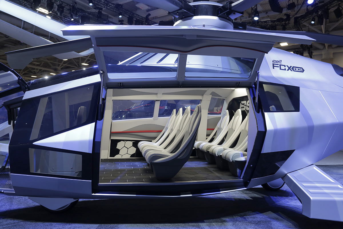 Bell Helicopter Launches Helicopter of the Future