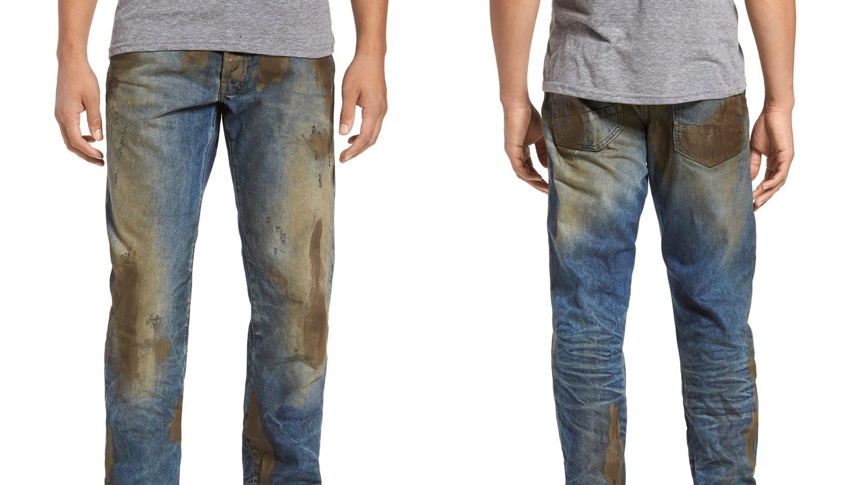 Jeans with Fake Mud Being Sold at Nordstrom for $425