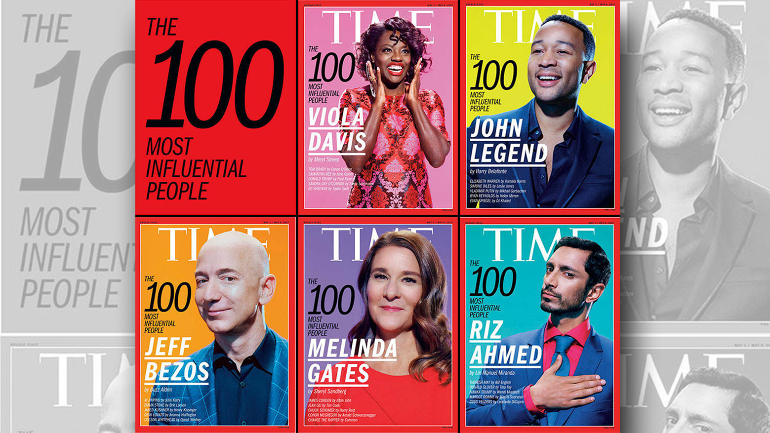 TIME Releases Annual List of 100 Most Influential People