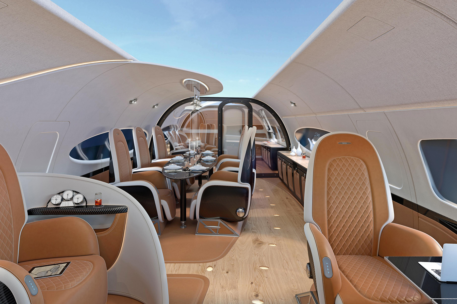 This Billionaire Business Jet Has Its Own Sunroof