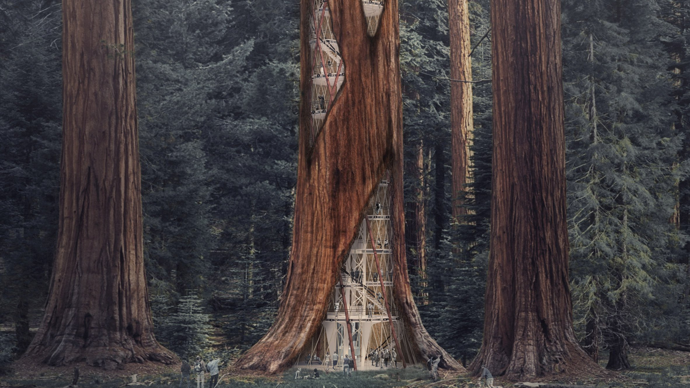 'Giant Sequoia Skyscraper' Concept Proposes Building ...