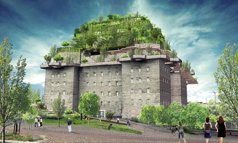 Hilldegarden Project rendering