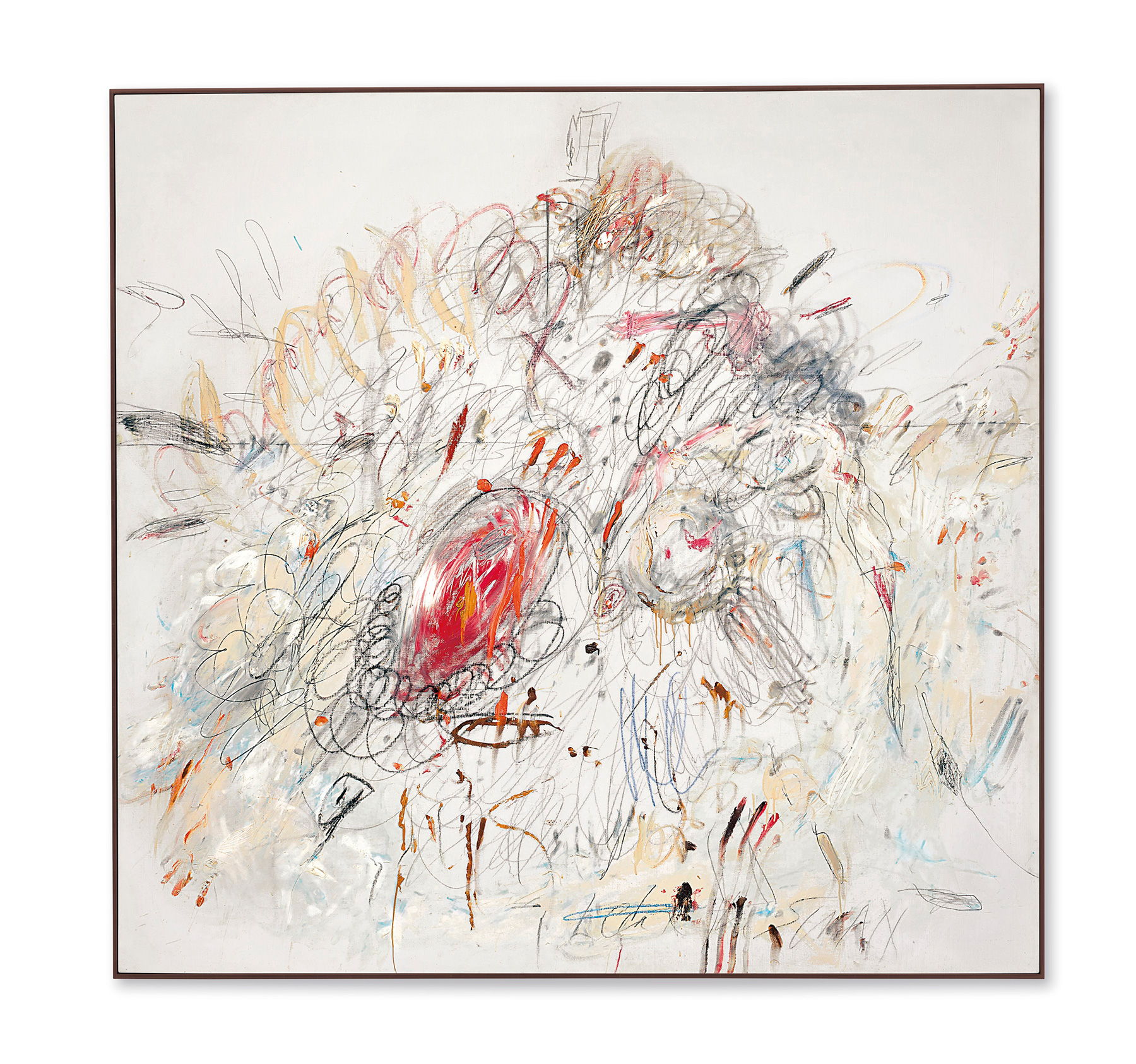 Christie's Sees Giant Gains, Thanks for Cy Twombly
