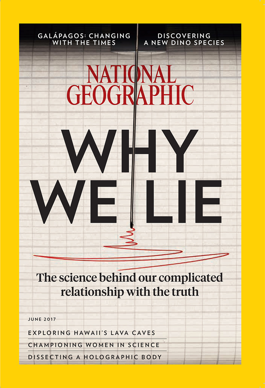 June issue of National Geographic magazine