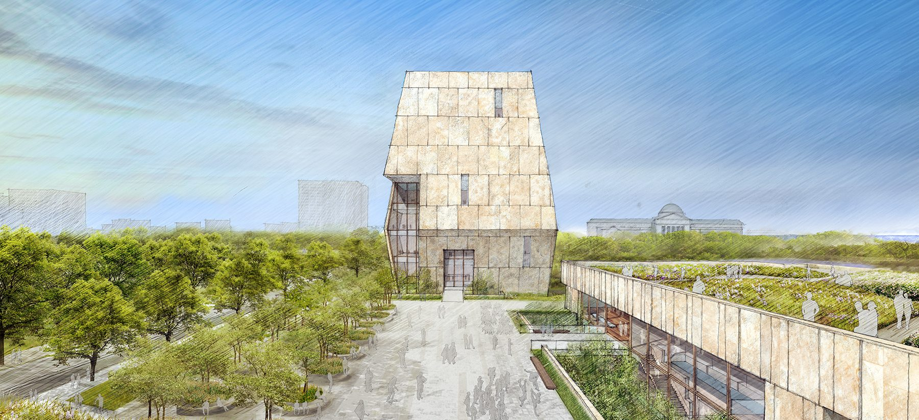 Concept designs for the Obama Presidential Center