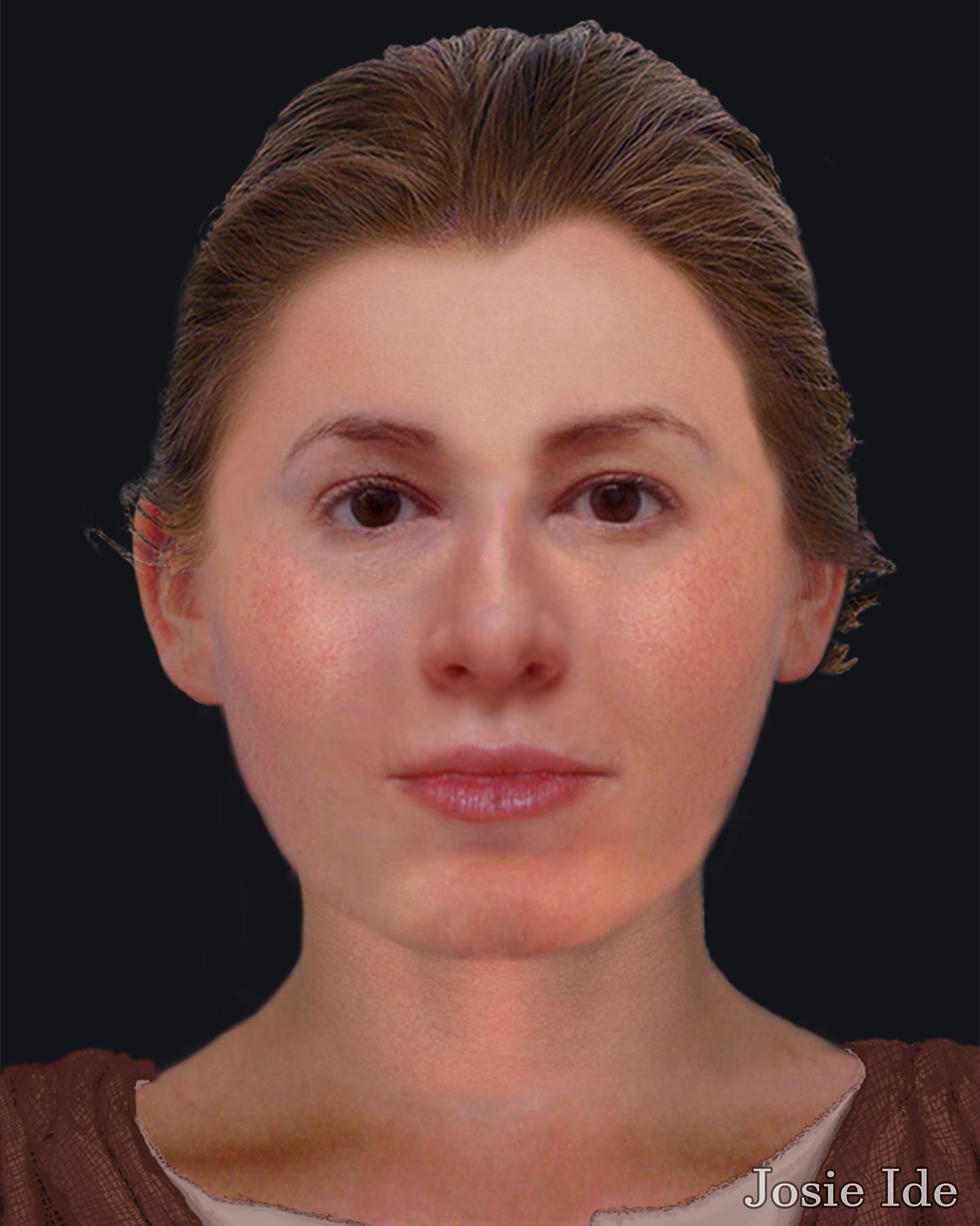 18th-Century Scottish Woman Facial Reconstruction