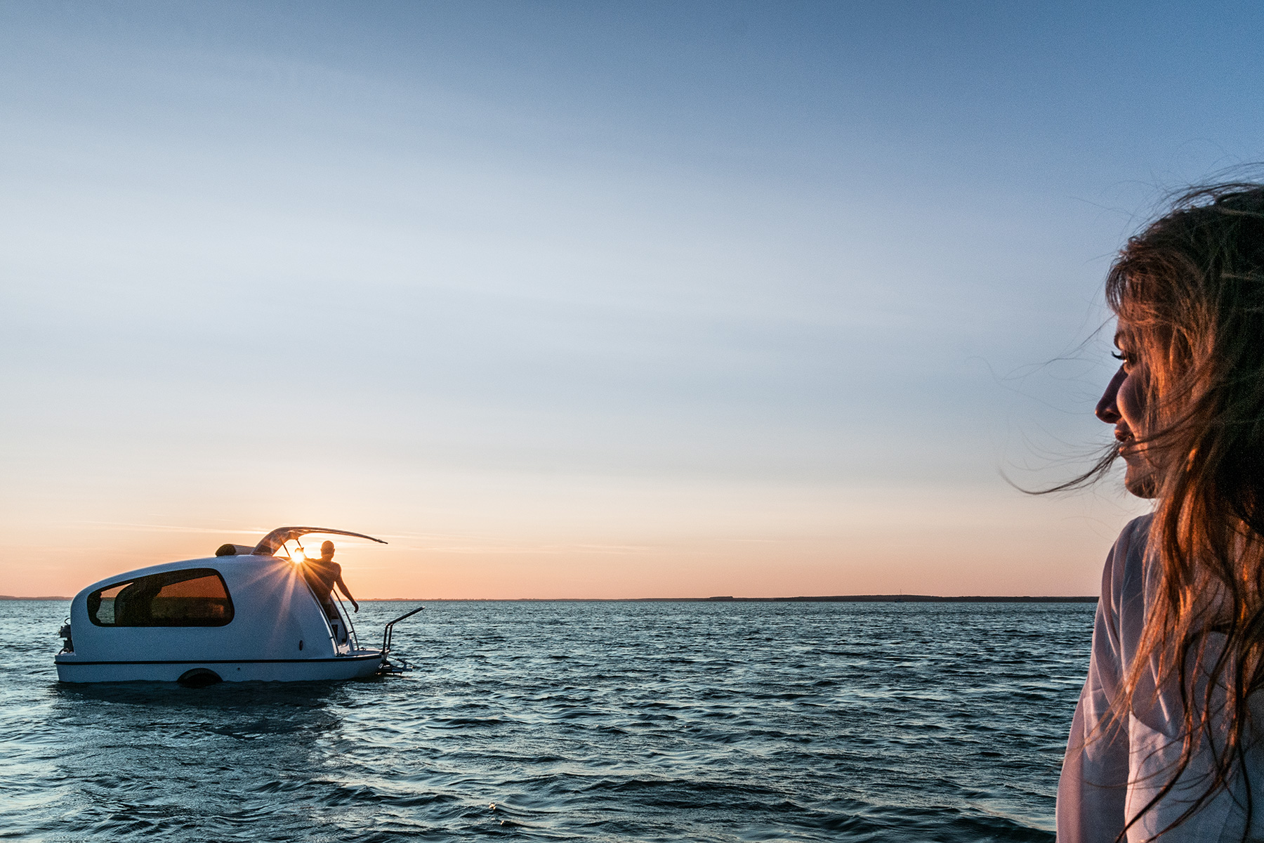The Sealander Is a Mini RV That Doubles as a Yacht
