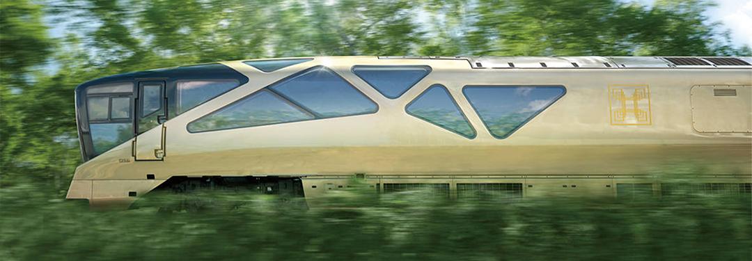 Train Suite Shiki-shima design