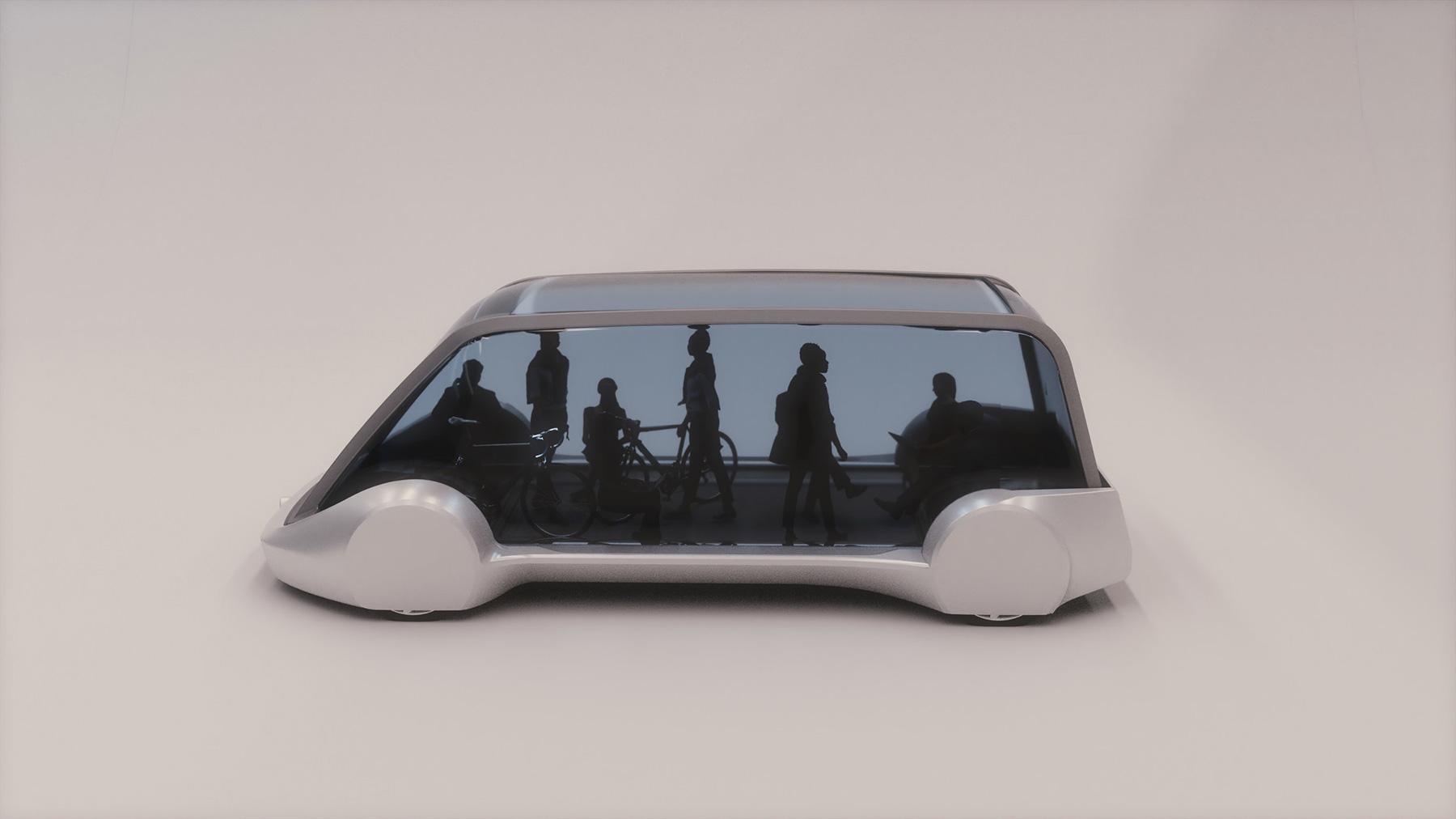 Elon Musk's Boring Company Teases Underground Transit Vehicle