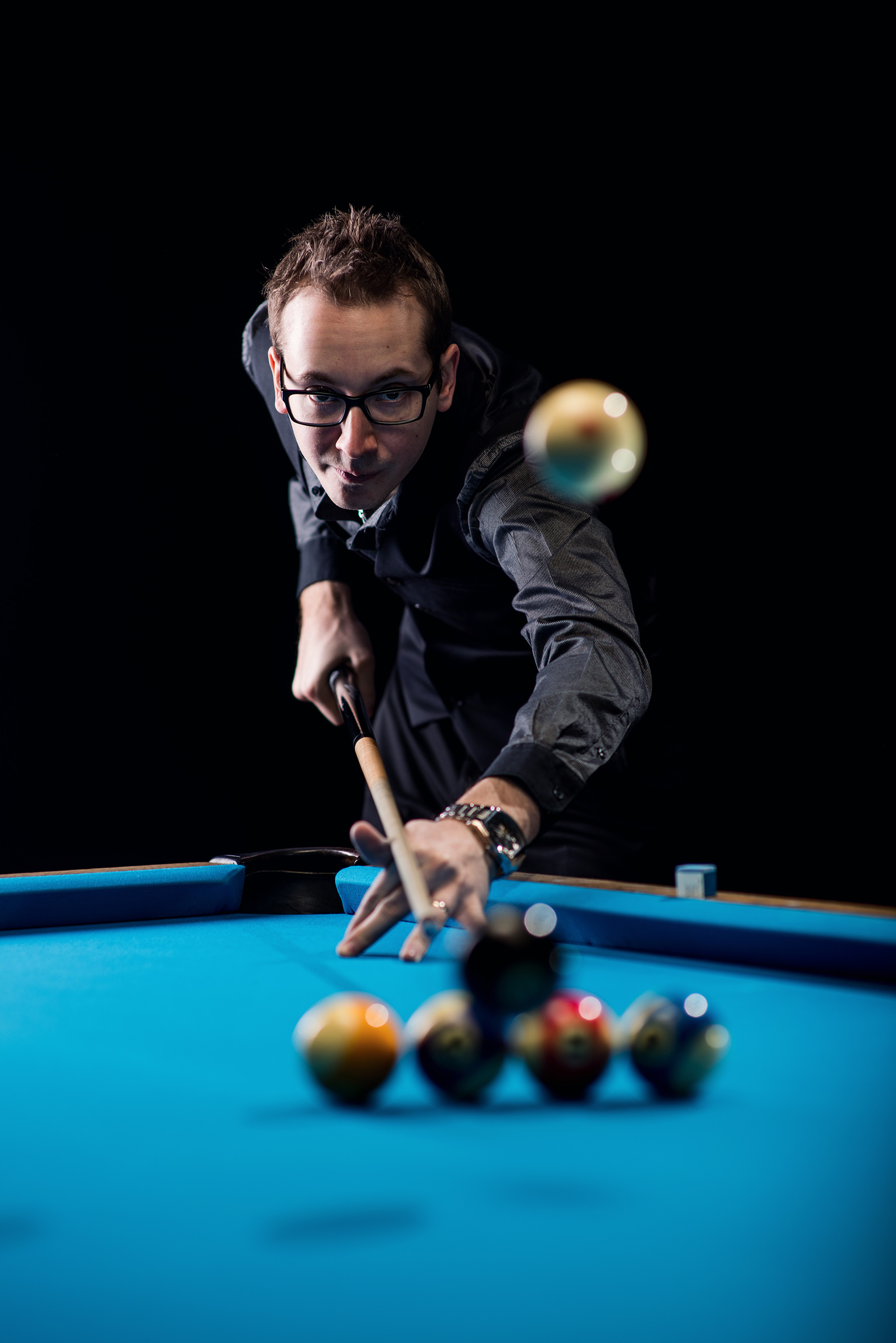 Florian 'Venom' Kohler on How to Become a Pool Trick-Shot Artist