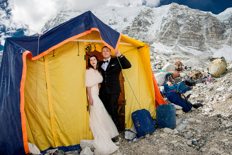 Wedding on Mount Everest