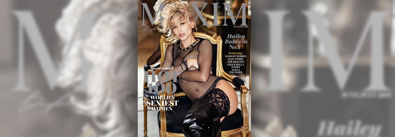 Hailey Baldwin Maxim Hot 100