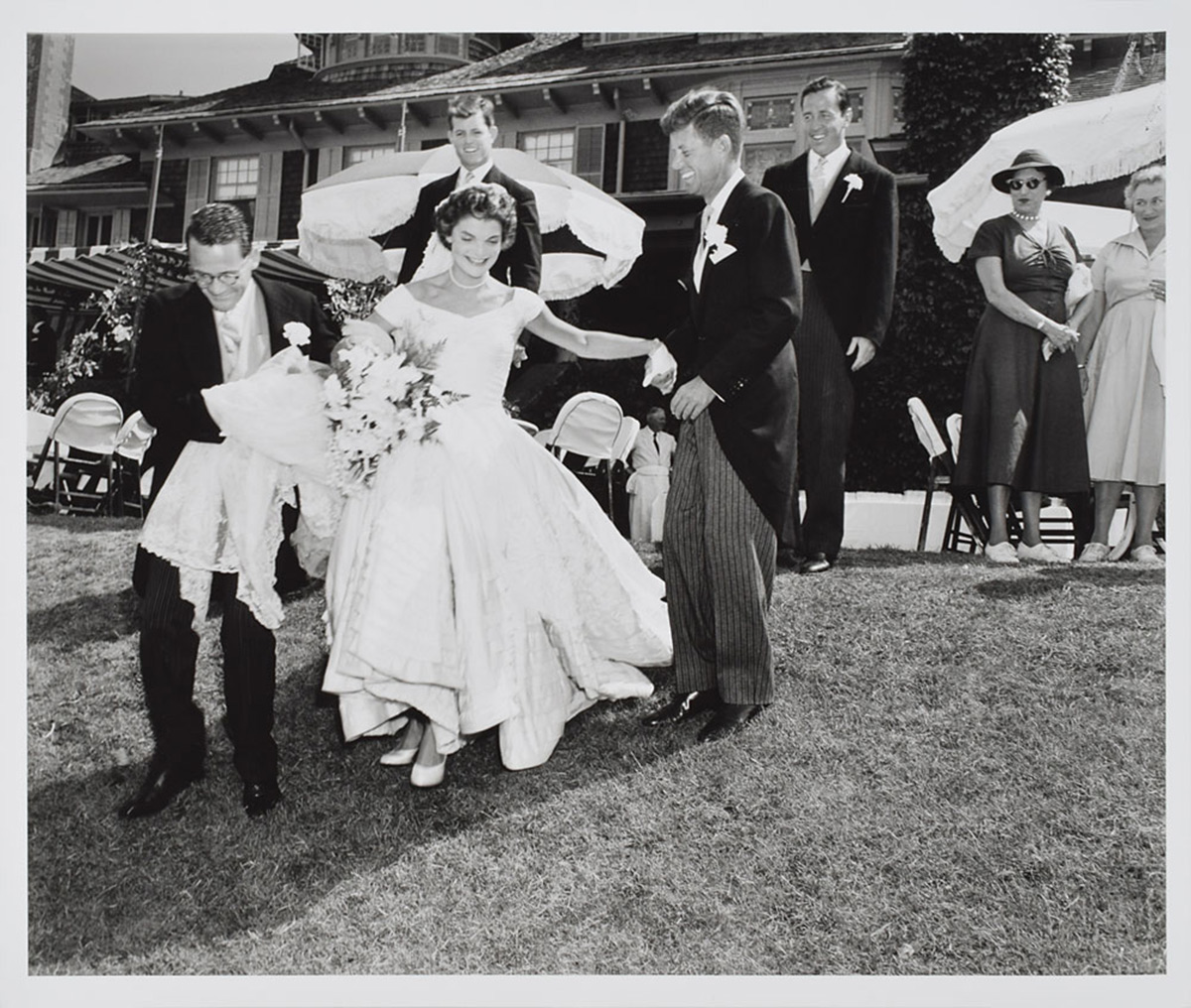 Never-Before-Seen Photos of JFK's Storybook Wedding and Early Years in Politics