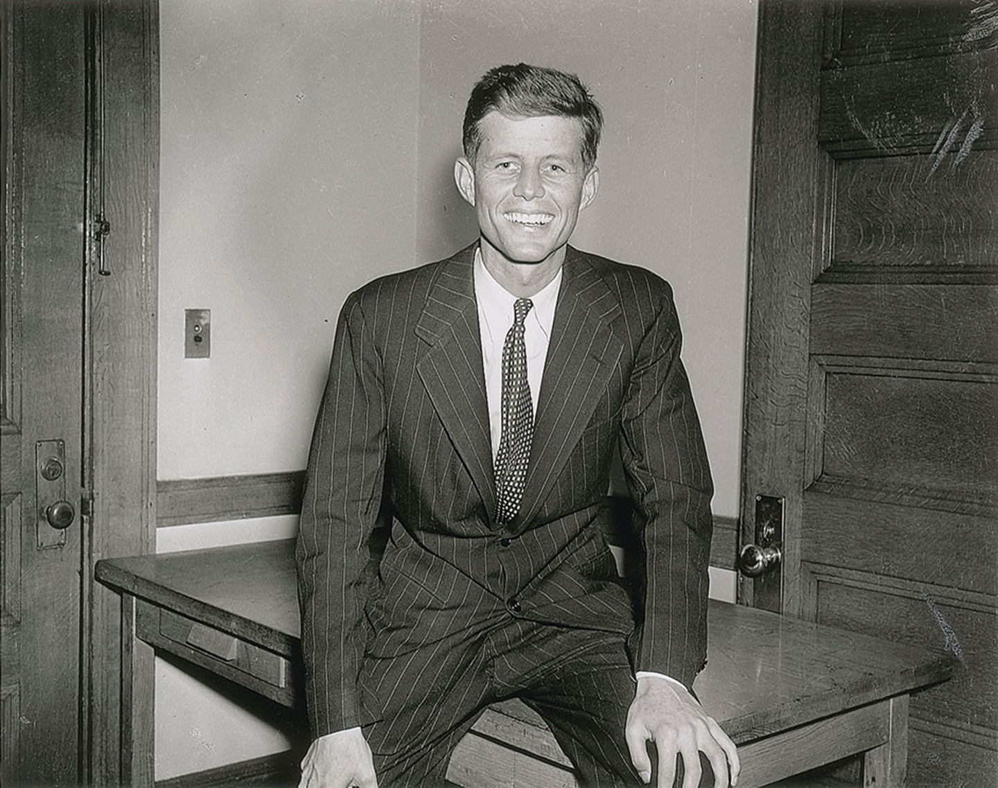 Rare photos of John F. Kennedy
