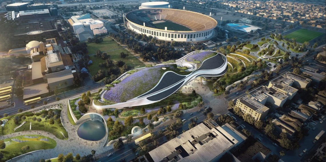 The new designs for George Lucas' museum in Los Angeles were revealed Friday.