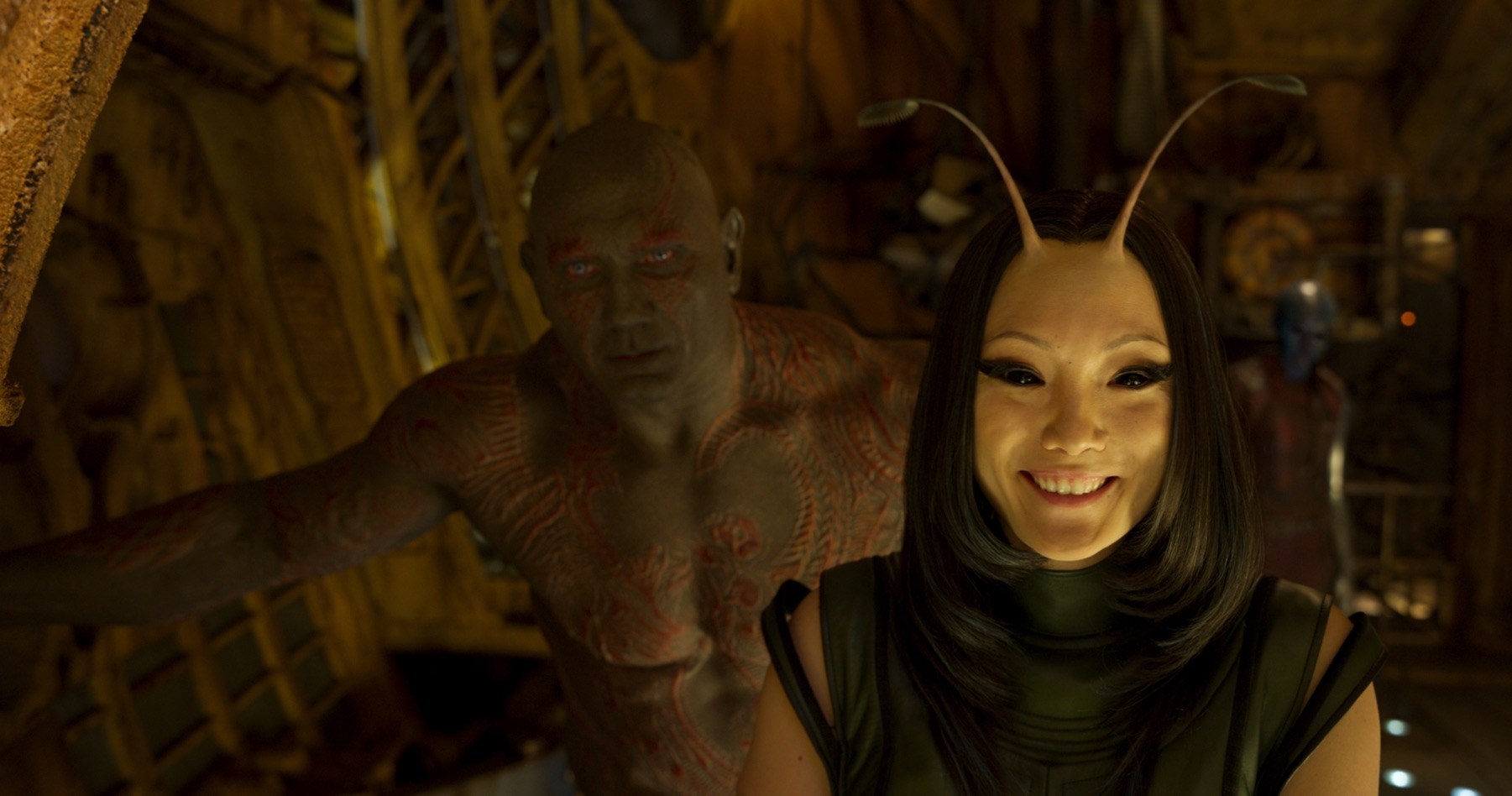 Pom Klementieff as Mantis
