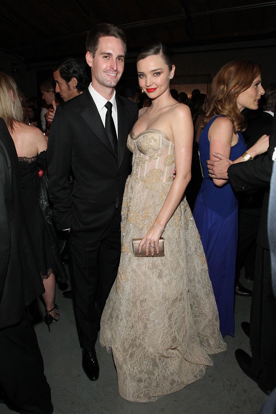 Victoria's Secret Angel Miranda Kerr and husband Evan Spiegel
