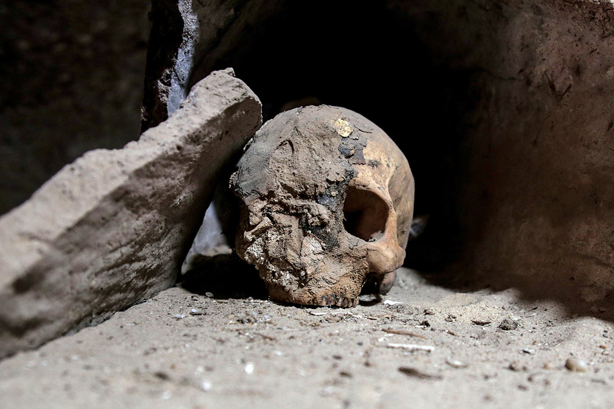Mummies found in Egypt's Minya