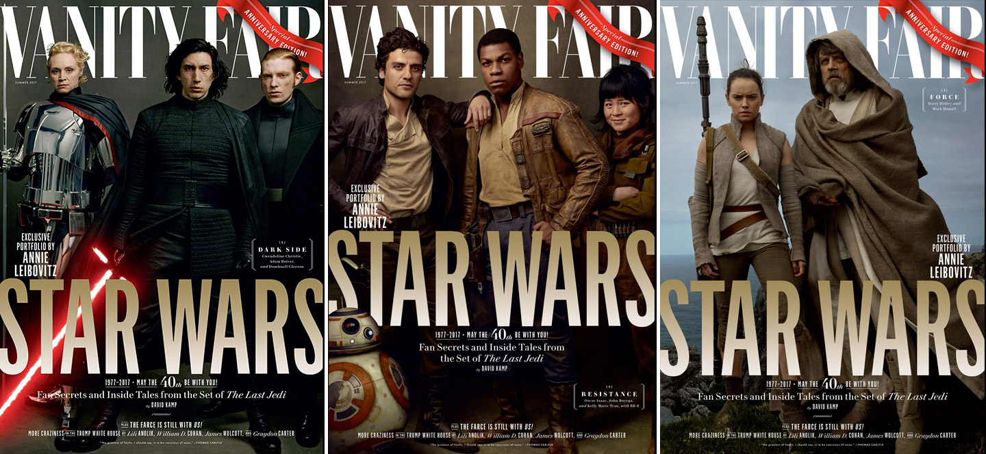Vanity Fair Star Wars Anniversary Edition