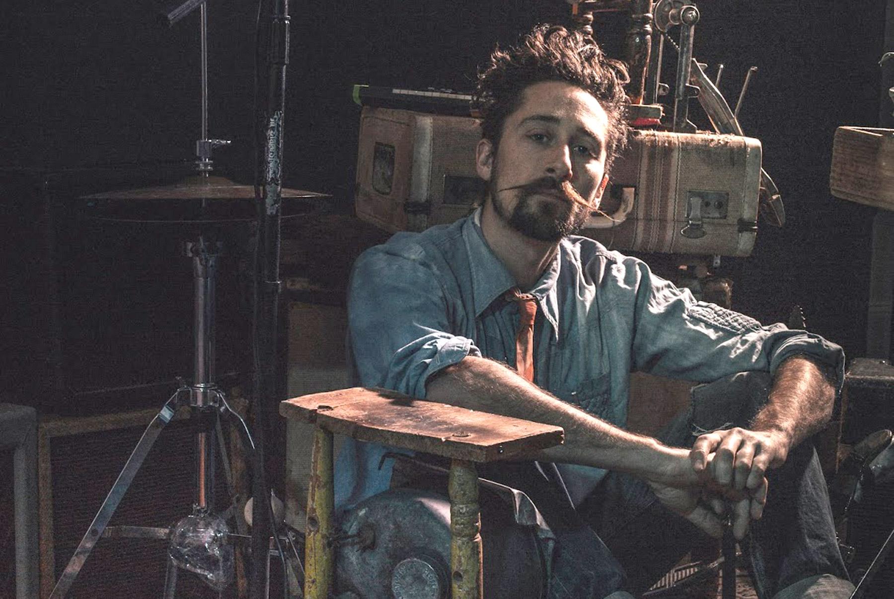 Rock musician Suitcase Junket