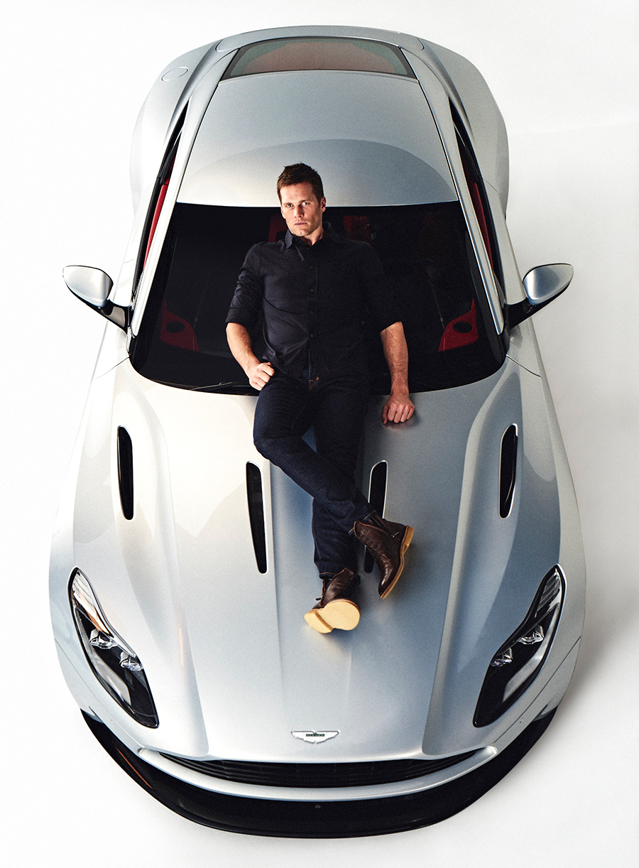 patriots quarterback tom brady is new face of aston martin