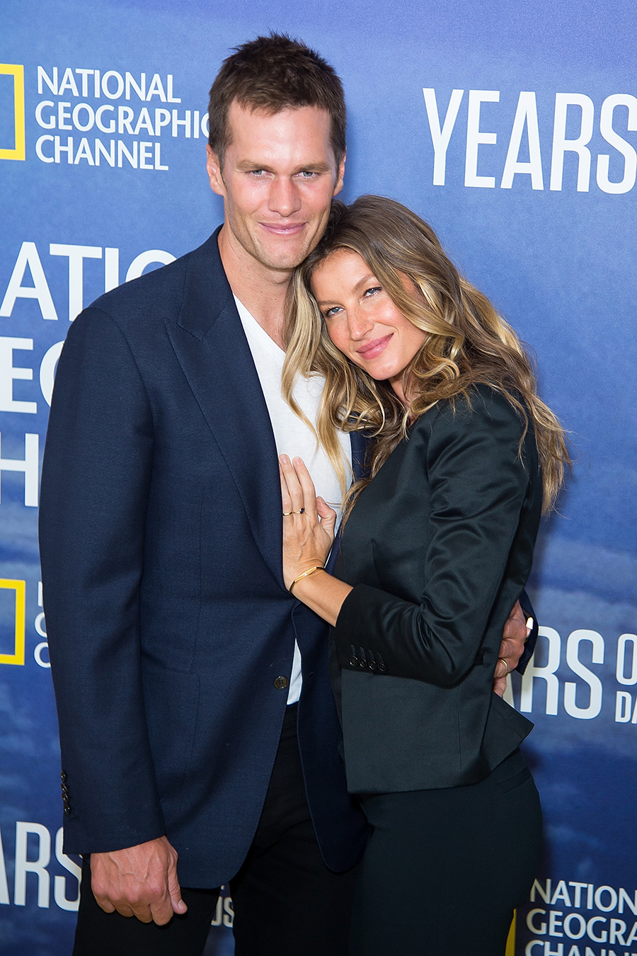 Model Gisele Bundchen and husband Tom Brady