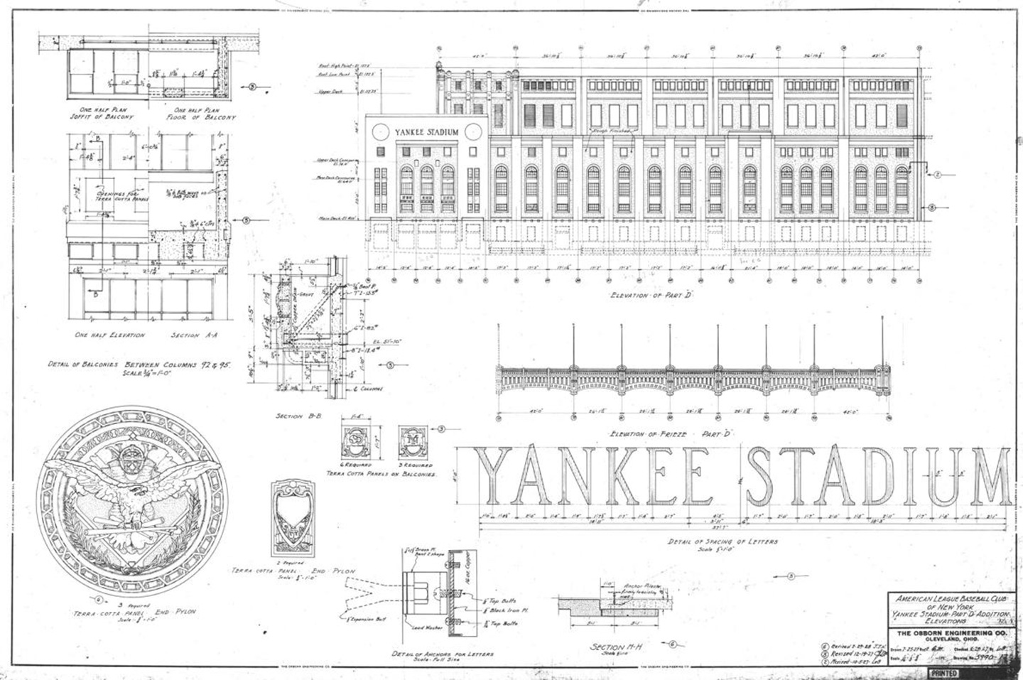 Rare Blueprints Reveal the Architectural Evolution of the Original ...