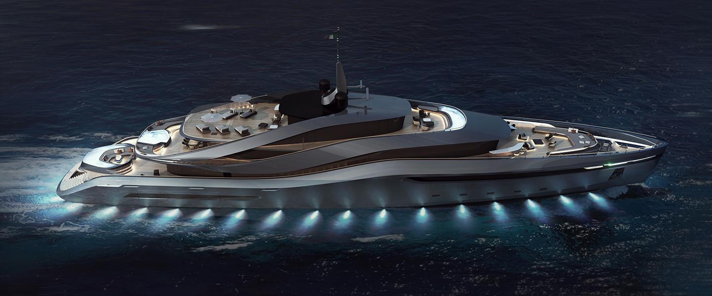 Aurea yacht concept