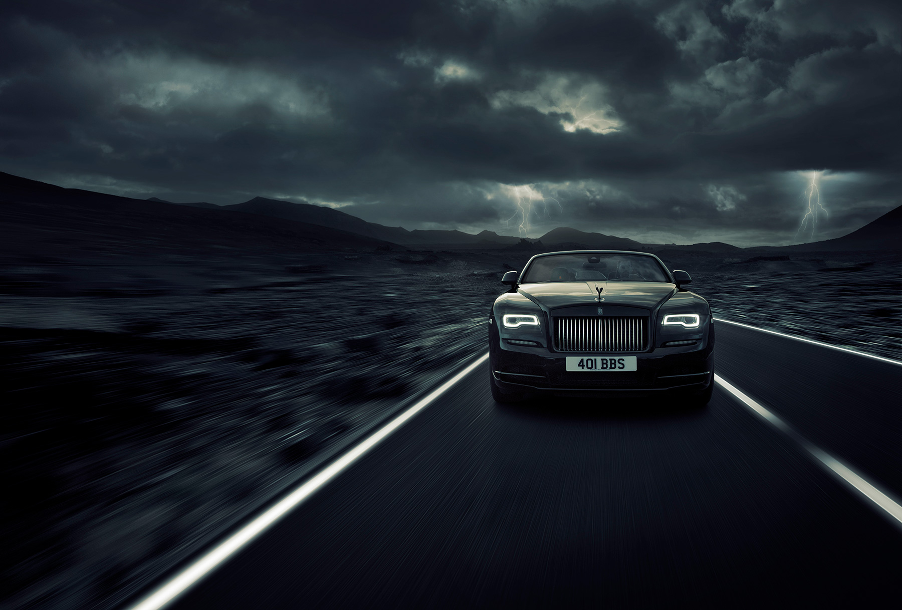 Rolls-Royce Gets in Touch With Its Dark Side With Dawn Black Badge