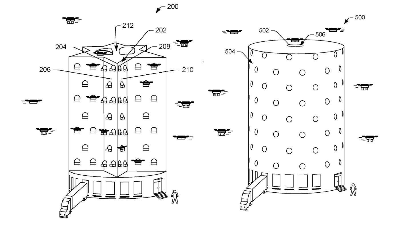 Amazon Delivery Drone Bee Hives