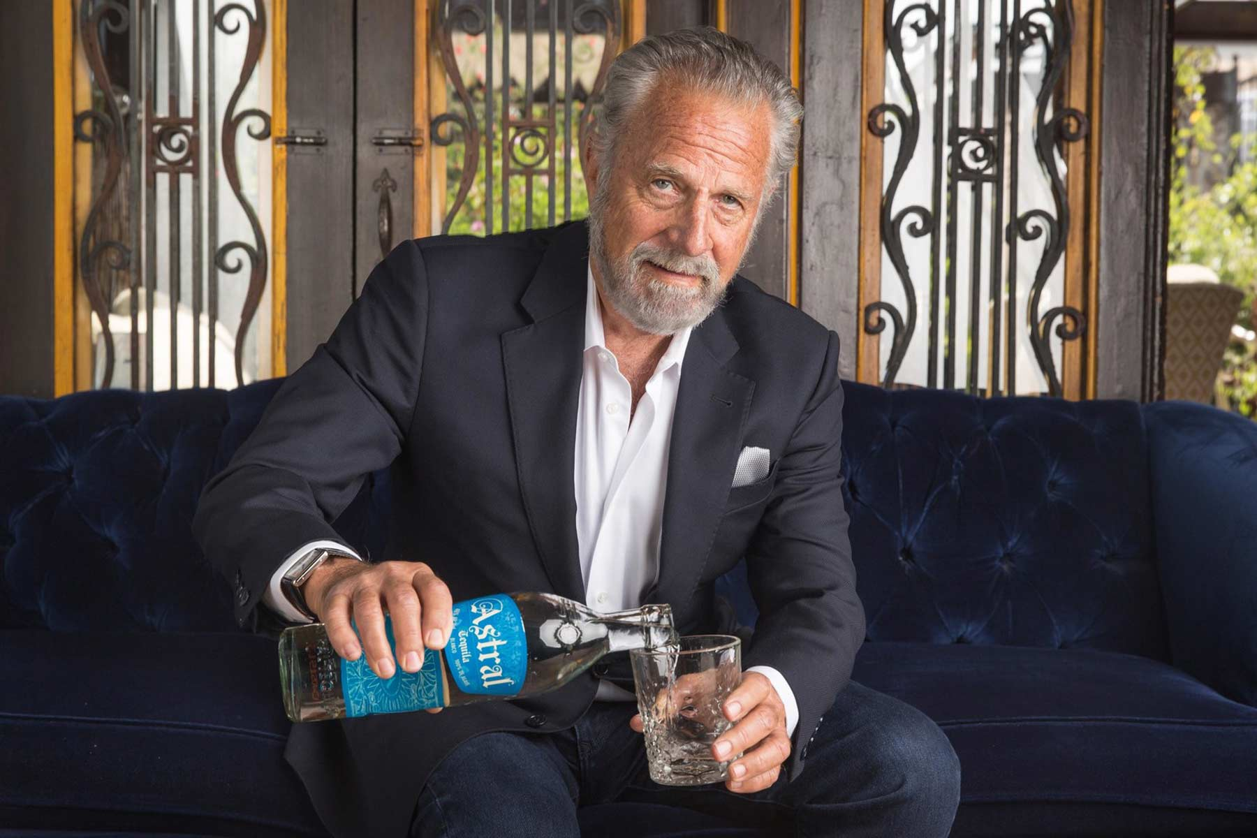 Jonathan Goldsmith, the former Most Interesting Man in the World. (Astral Tequila)