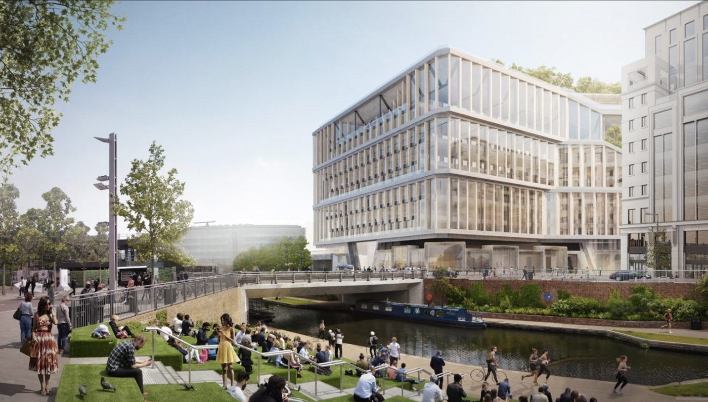 Google themes london - First Designs Revealed For The New Google Headquarters In London